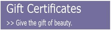 Buy Derma Gift Certificates